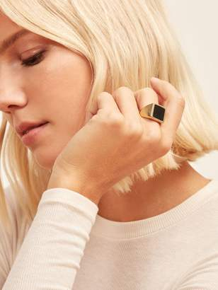 Reformation Soko Horn Square Signet Ring