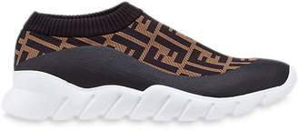 Fendi tech fabric low-tops
