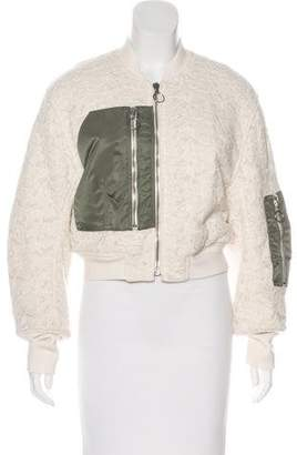 3.1 Phillip Lim Lace Bomber Jacket w/ Tags