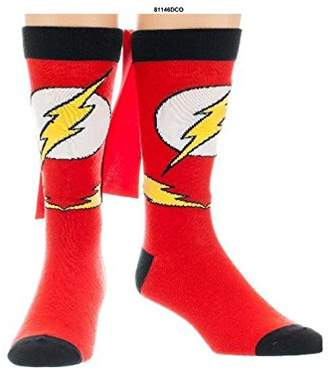 Bioworld Crew Sock - DC Comics - Flash Caped New Toys Anime Licensed 81146dco