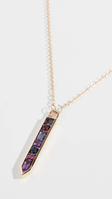 Jane Taylor 14K Vertical Arrow Necklace