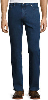 Ermenegildo Zegna Stretch-Denim Straight-Leg Jeans