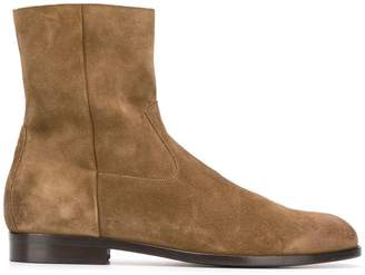 Buttero side zip ankle boots