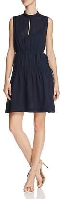 Derek Lam 10 Crosby Shirred Drawstring Dress