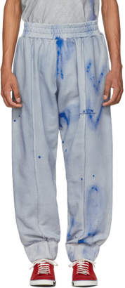 A-Cold-Wall* Grey and Blue T3 Sweatpants