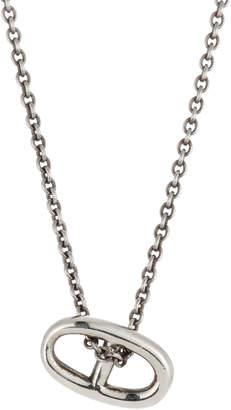 Hermes Estate Chaine d'Andre Pendant Necklace