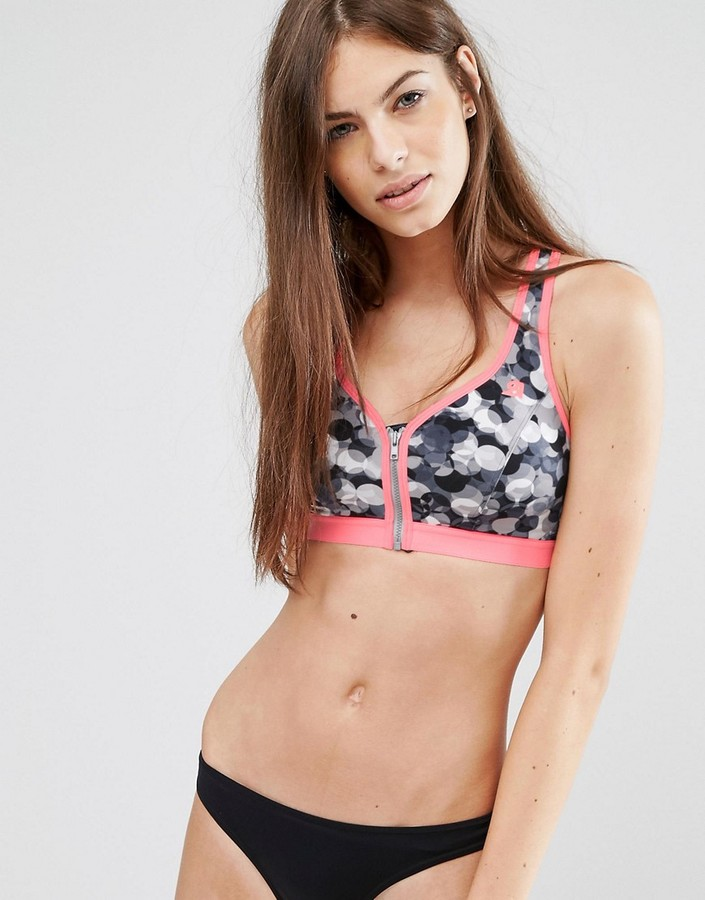 Shock Absorber Limited Edition Zipped Sports Bra