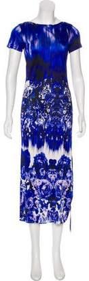 Jean Paul Gaultier Floral Midi Dress