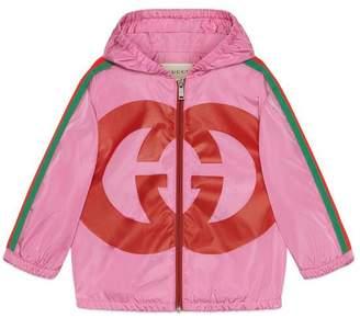 Gucci Baby nylon jacket with Interlocking G
