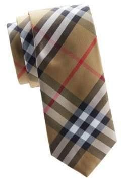 Burberry Manston Tartan Silk Tie