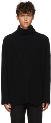 Ann Demeulemeester Black Knitted Turtleneck