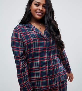 Asos DESIGN Curve mix & match check shirt