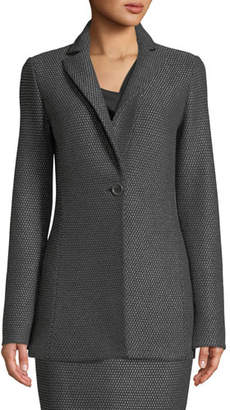 St. John Sofia Knit One-Button Jacket