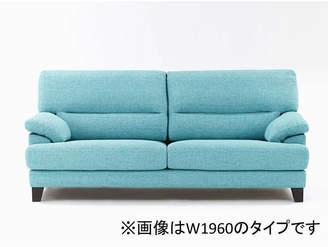 IDC OTSUKA/大塚家具 ラブソファ アクア 布FG220-11D ブルー【返品不可商品】