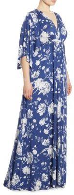 Rachel Pally, Plus Size Floral-Print Caftan Gown $264 thestylecure.com