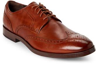 Cole Haan British Tan Jefferson Grand Wingtip Derby Shoes