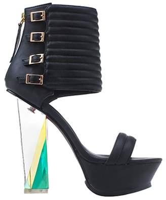 Privileged Leigh Color Transparent Heel Sandal