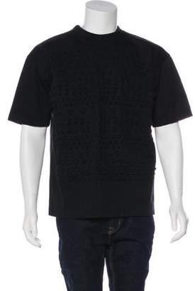 Juun.J Star-Embossed Sweatshirt