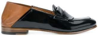 Silvano Sassetti colour block loafers