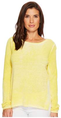 Elliott Lauren Thermal Stitch Stone Wash Sweater Women's Sweater
