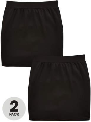 Very 2 Pk Tube Skirt