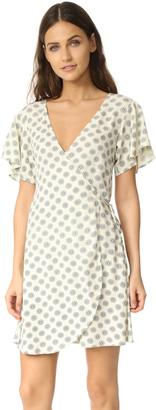 Cleobella Oxford Wrap Dress $119 thestylecure.com