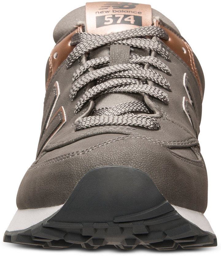 New Balance Women's 574 Precious Metals Casual Sneakers from Finish Line 2