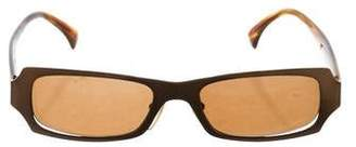 Alain Mikli Tinted Narrow Sunglasses