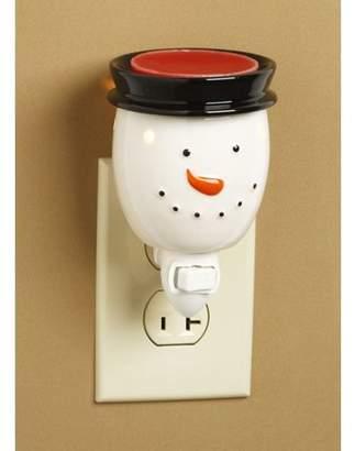Darice Ceramic Plug-In Wax Warmer: Snowman Design