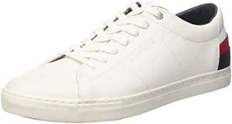 Tommy Hilfiger Men''s J2285ay 7a1 Low-Top Sneakers, (White 100)