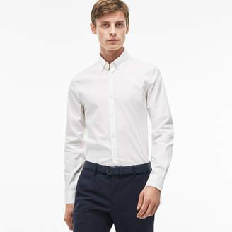 Lacoste Men's Slim Fit Stretch Cotton Pinpoint Shirt