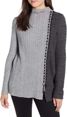 Nic+Zoe Side Stitch Sweater