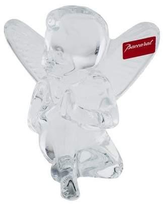 Baccarat Crystal Angel Figurine
