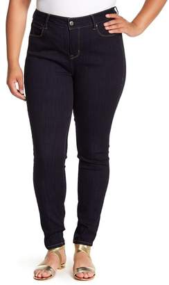 Wilson Rebel X Angels Pin-Up Mid Rise Skinny Jeans (Plus Size)