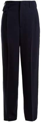 Golden Goose Sally high-rise straight-leg trousers