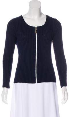 St. John Sport Long Sleeve Wool Sweater