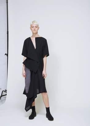 Yohji Yamamoto Short Sleeve Jacket Dress