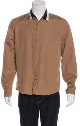 Gucci Striped-Collar Duke Shirt
