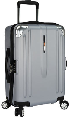 "Traveler's Choice London 22"" Spinner Luggage"