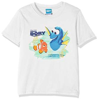 Disney Finding Dory Girls Marlin & Dory T-Shirt