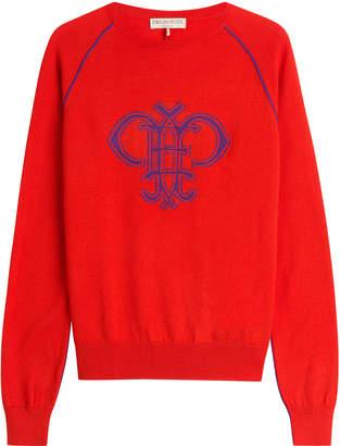 Emilio Pucci Intarsia Knit Wool Pullover