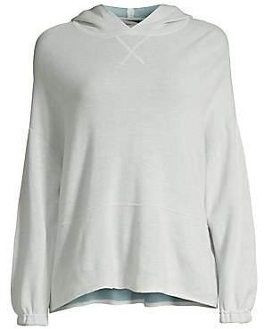 ATM Anthony Thomas Melillo Women's Oversize Hooded Sweatshirt