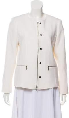 Lafayette 148 Wool Zippered Jacket