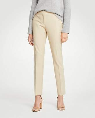 Ann Taylor The Ankle Pant In Dense Twill