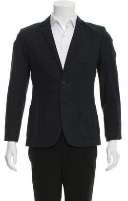 AllSaints Woven Two-Button Blazer