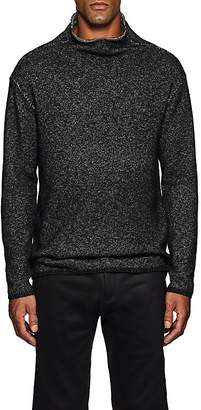 John Varvatos Men's Cotton-Blend Mock Turtleneck Sweater