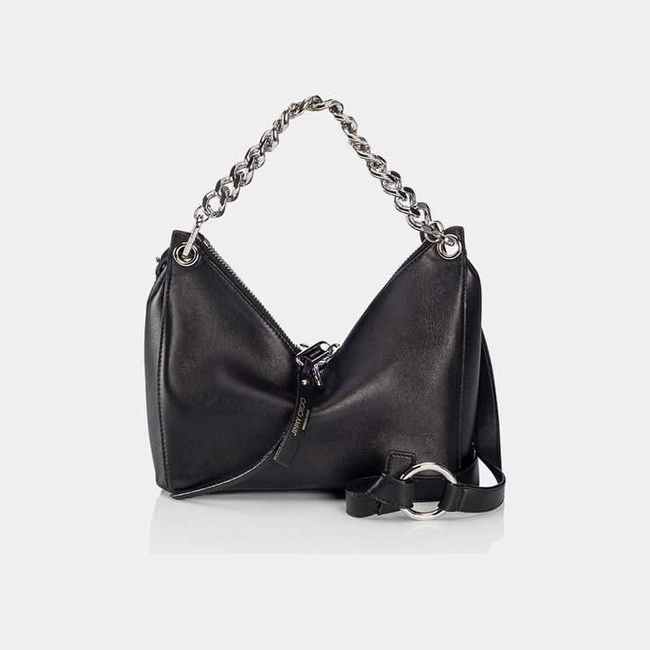 Jimmy ChooRaven Leather Chain Shoulder Bag