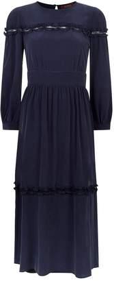 Max Mara Lace Panel Dress