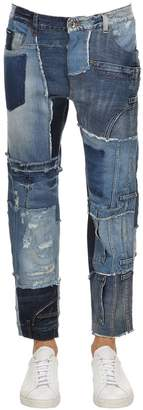 Dolce & Gabbana Baggy Patchwork Denim Jeans