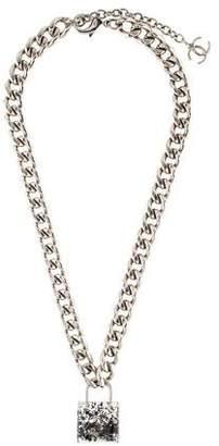 Chanel CC Small Padlock Pendant Necklace